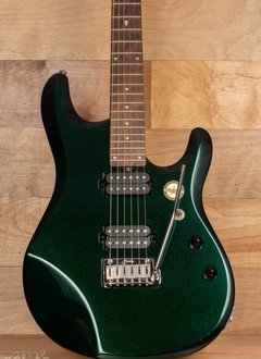 Sterling Sterling John Petrucci JP60 Signature Model With Bag, Mystic Green - Mint