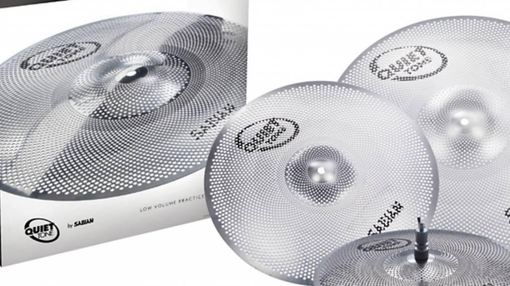 "Sabian Sabian Quiet Tone 4pc Low Volume Practice Cymbals - 14"", 16"", 20"""