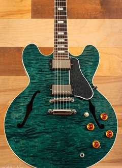 Gibson Gibson ES-335 Figured, Turquoise Stain - Mint