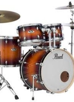 Pearl Pearl Export EXL Series 5 Piece Shell Pack with Hardware, Gloss Tobacco Burst