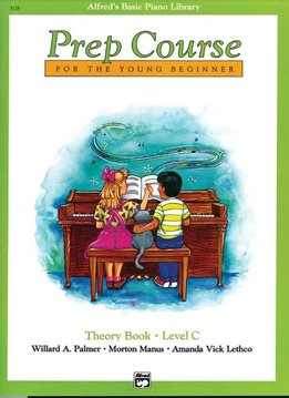 Alfred's Basic Piano Theory Book Level C