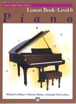 Alfred's Basic Piano Lesson Book Level 6