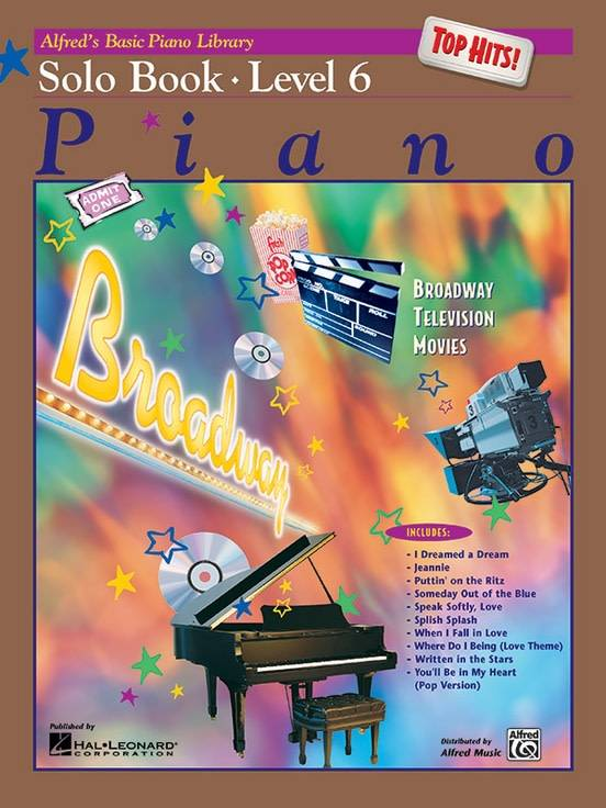 Alfred's Basic Piano Solo Book Level 63a Top Hits!