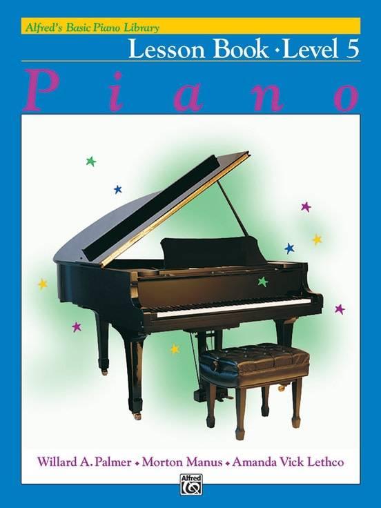 Alfred's Basic Piano Lesson Book Level 5