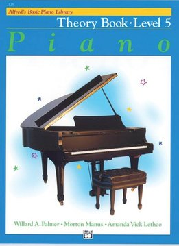 Alfred's Basic Piano Theory Book Level 5