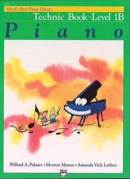 Alfred's Basic Piano Technic Book Level 1B