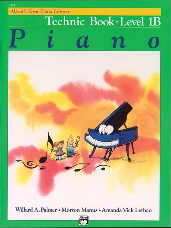 Alfred's Basic Piano Technic Book Level 1B