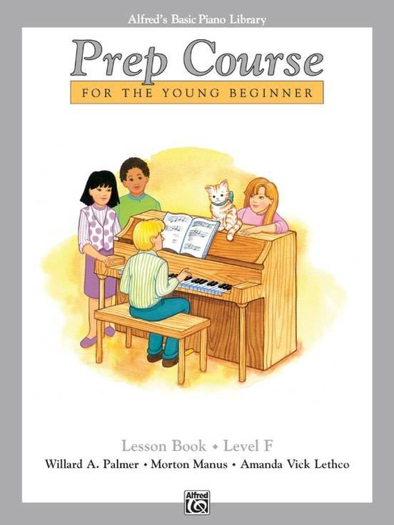 Alfred's Basic Piano Lesson Book Level F