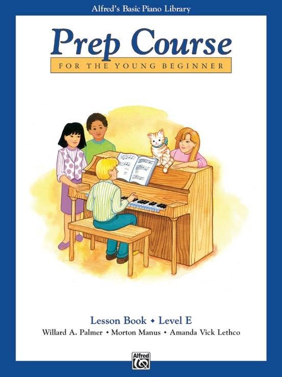 Alfred's Basic Piano Lesson Book Level E