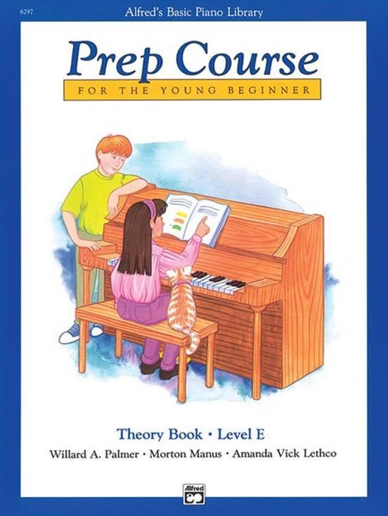 Alfred's Basic Piano Theory Book Level E
