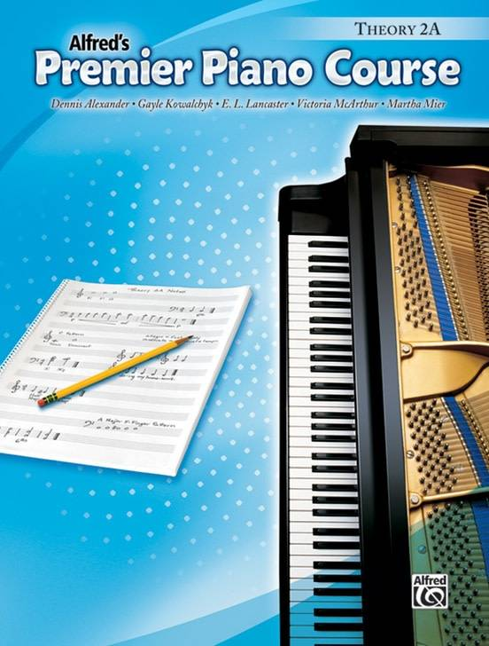 Alfred'' Premier Piano Course Theory 2A