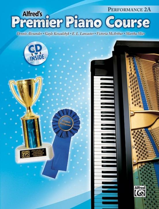 Alfred'' Premier Piano Course Performance 2A