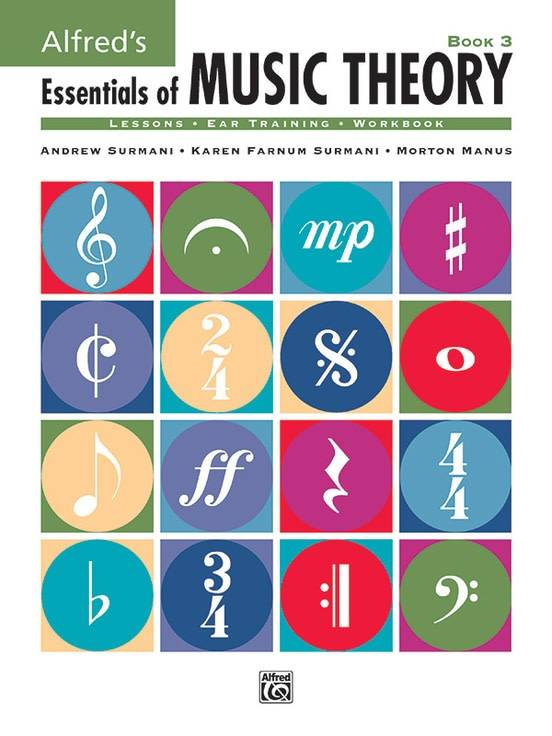 Alfred's Essentials of Music Theory Book 3