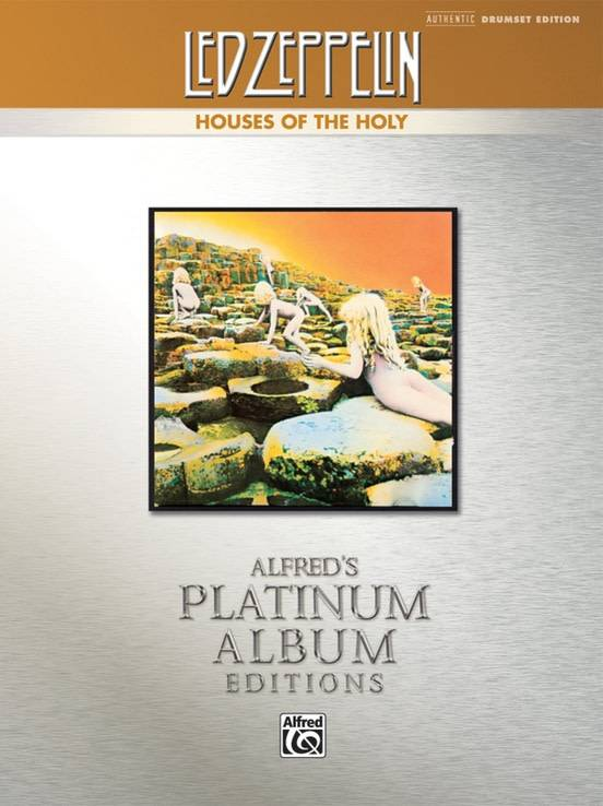 Led Zeppelin Houses of the Holy Drum Book