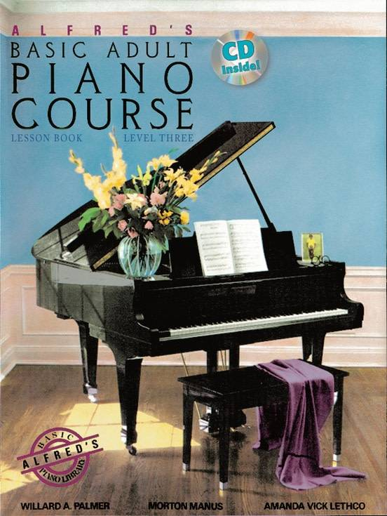 Alfred's Basic Adult Piano Course W/CD Level 3