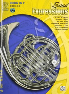 Band Expressions's Horn in F, Book 1