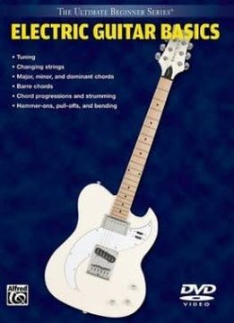 Electric Guitar Basics Book with DVD