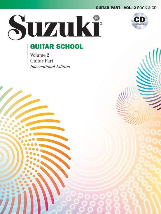 Suzuki Suzuki Guitar School Volume 2 Book & CD