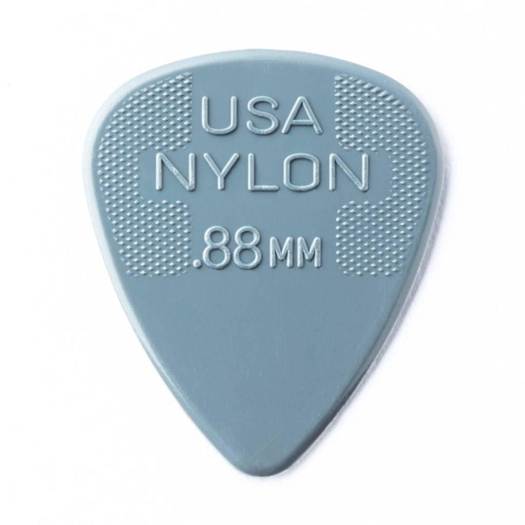Dunlop Dunlop Nylon .88 Picks, 12-pack