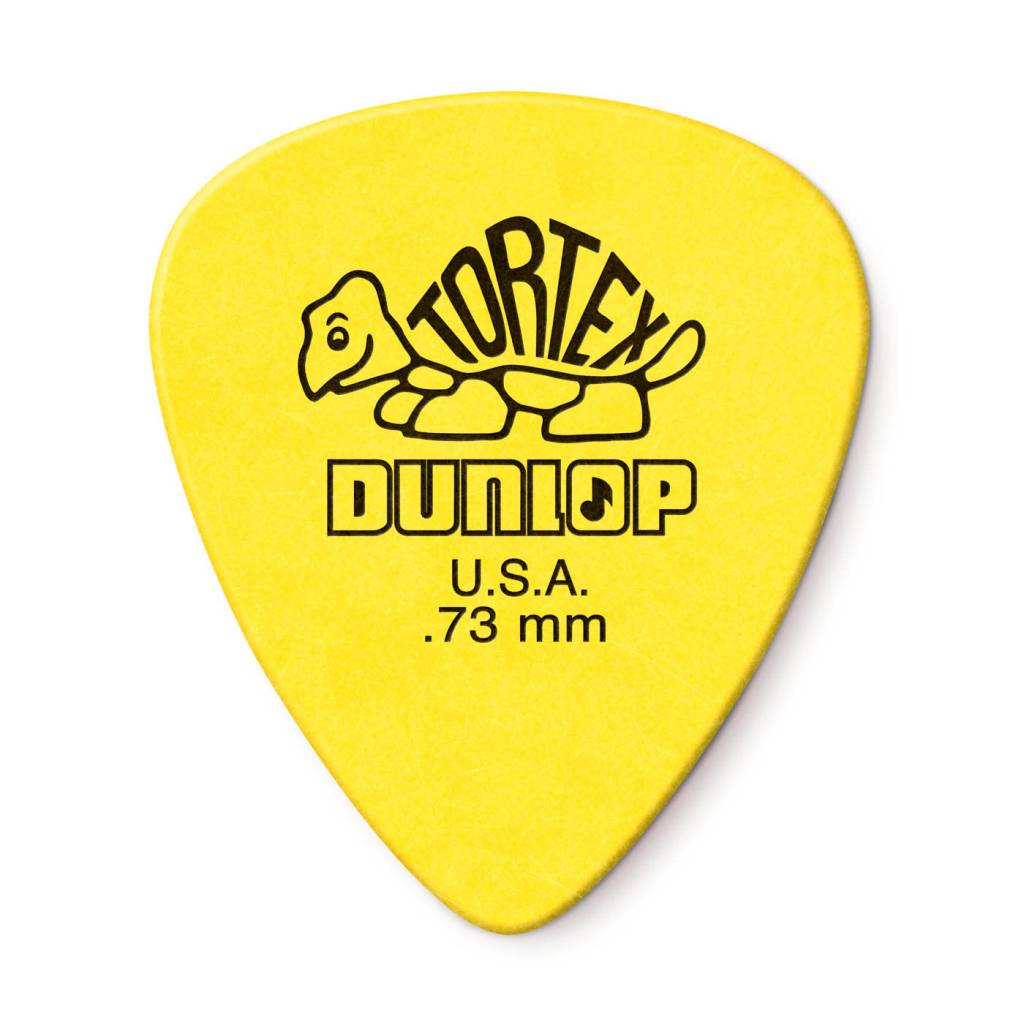 Dunlop Dunlop Standard Tortex .73 Picks, 12-Pack