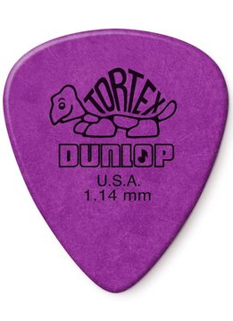 Dunlop Dunlop Standard Tortex 1.14 Picks, 12-Pack