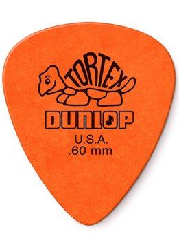 Dunlop Dunlop Standard Tortex .60 Picks, 12-Pack