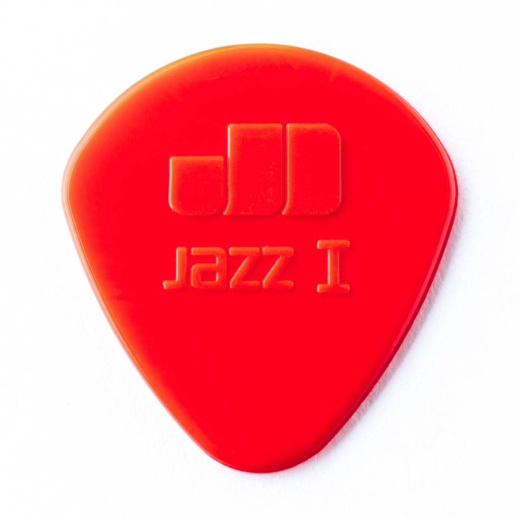 Dunlop Dunlop Jazz 1 Red Nylon Picks, 6-pack