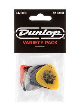 Dunlop Dunlop Variety Pick Pack Light/Medium Guage, 12pk