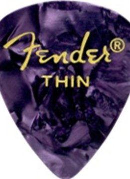 Fender Fender Purple Moto Thin Picks, 12-pack