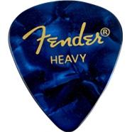 Fender Fender Blue Moto Heavy Picks, 12-pack