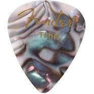 Fender Fender Abalone Thin Picks, 12-pack