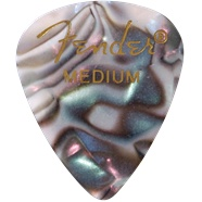 Fender Fender Abalone Medium Picks, 12-pack