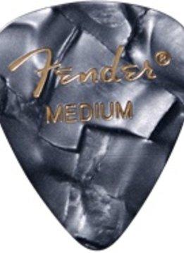 Fender Fender Black Moto Medium Picks, 12-pack