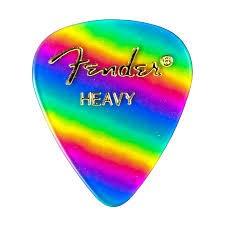 Fender Fender Rainbow Heavy Picks, 12-pack