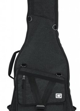 Gator Cases Gator Transit Series Electric Guitar Gig Bag, Black Exterior