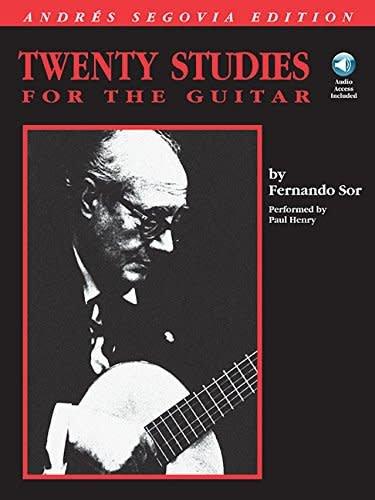 Hal Leonard Twenty Studies for the Guitar