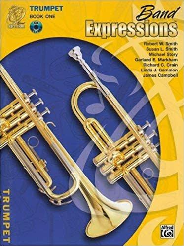 Band Expressions, Book 1, Trombone W/CD