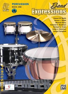 Band Expressions, Book 1, Percussion W/CD