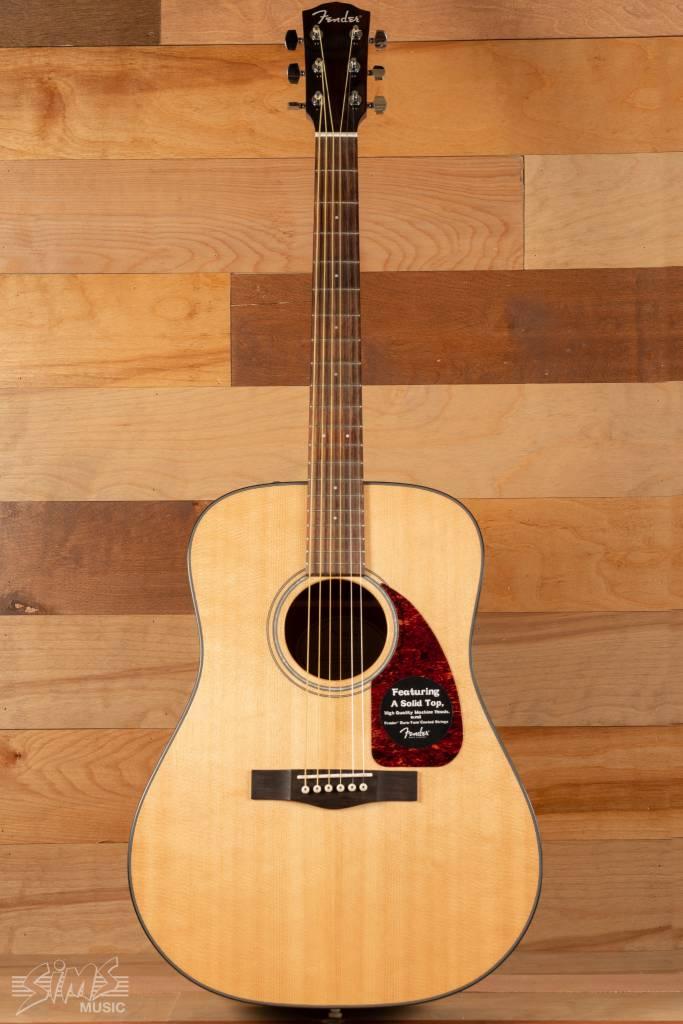 Fender Fender CD-280S Solid Top Acoustic, Natural