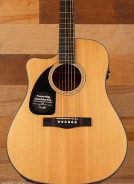 Fender Fender CD-100CE Left-Handed Acoustic/Electric, Natural - Mint