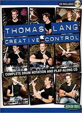 Hal Leonard Thomas Lang Creative Control