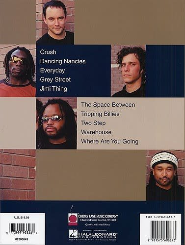 Hal Leonard Dave Matthews Band: Fan Favorites Drum Book