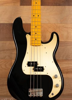 Fender Fender Classic Series '50s Precision Bass® Lacquer, Maple Fingerboard, Black - Mint