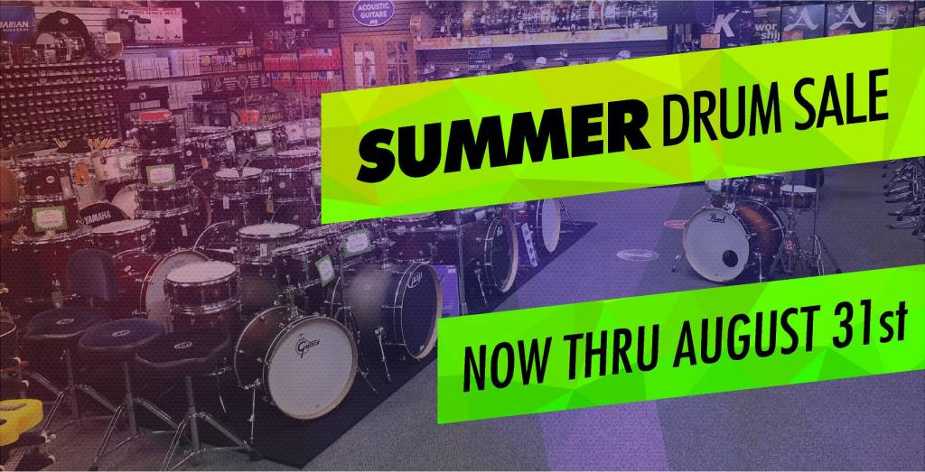 Summer Drum Sale at Sims!