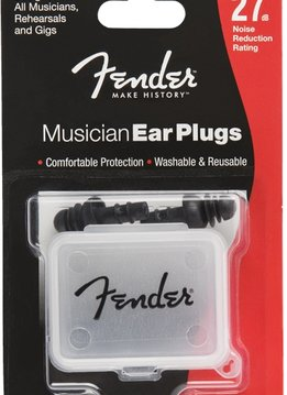 Fender Fender Musician Series Ear Plugs, Black