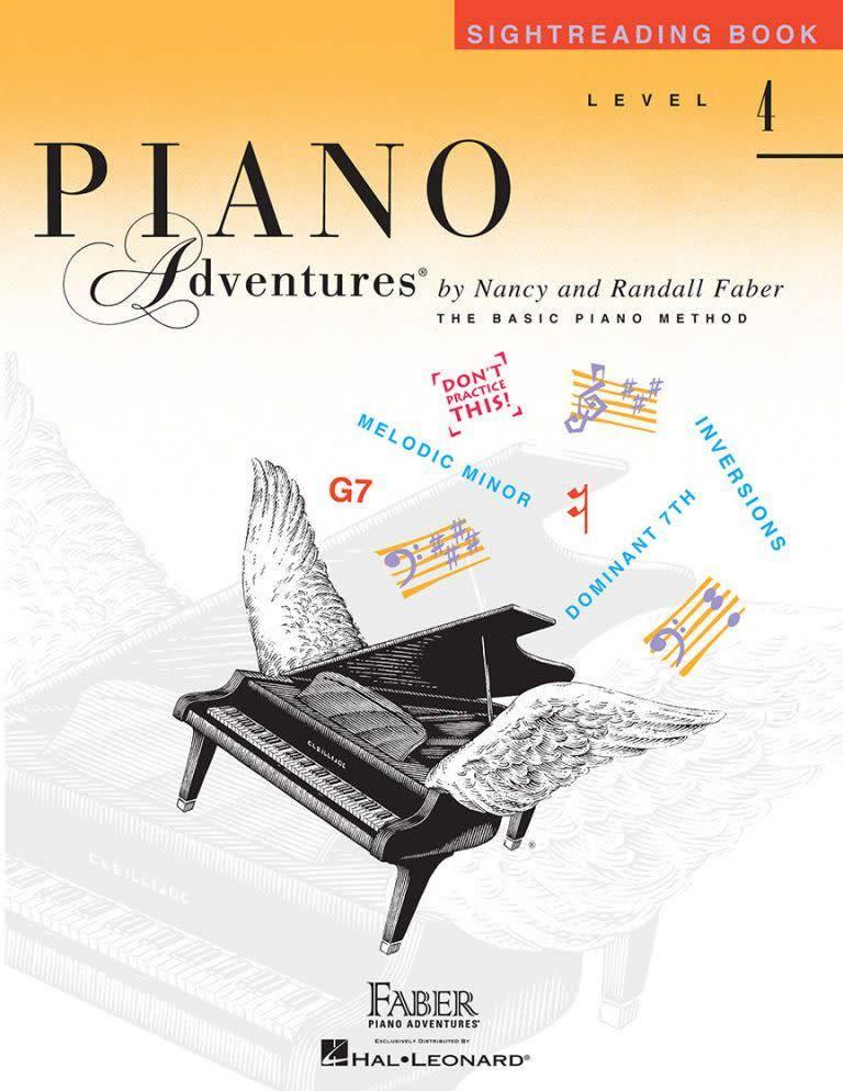Hal Leonard Piano Adventures - Sightreading Book 4