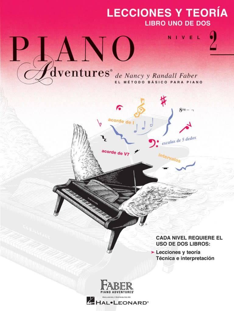 Hal Leonard Piano Adventures - Lecciones Y Teoria, Nivel 2