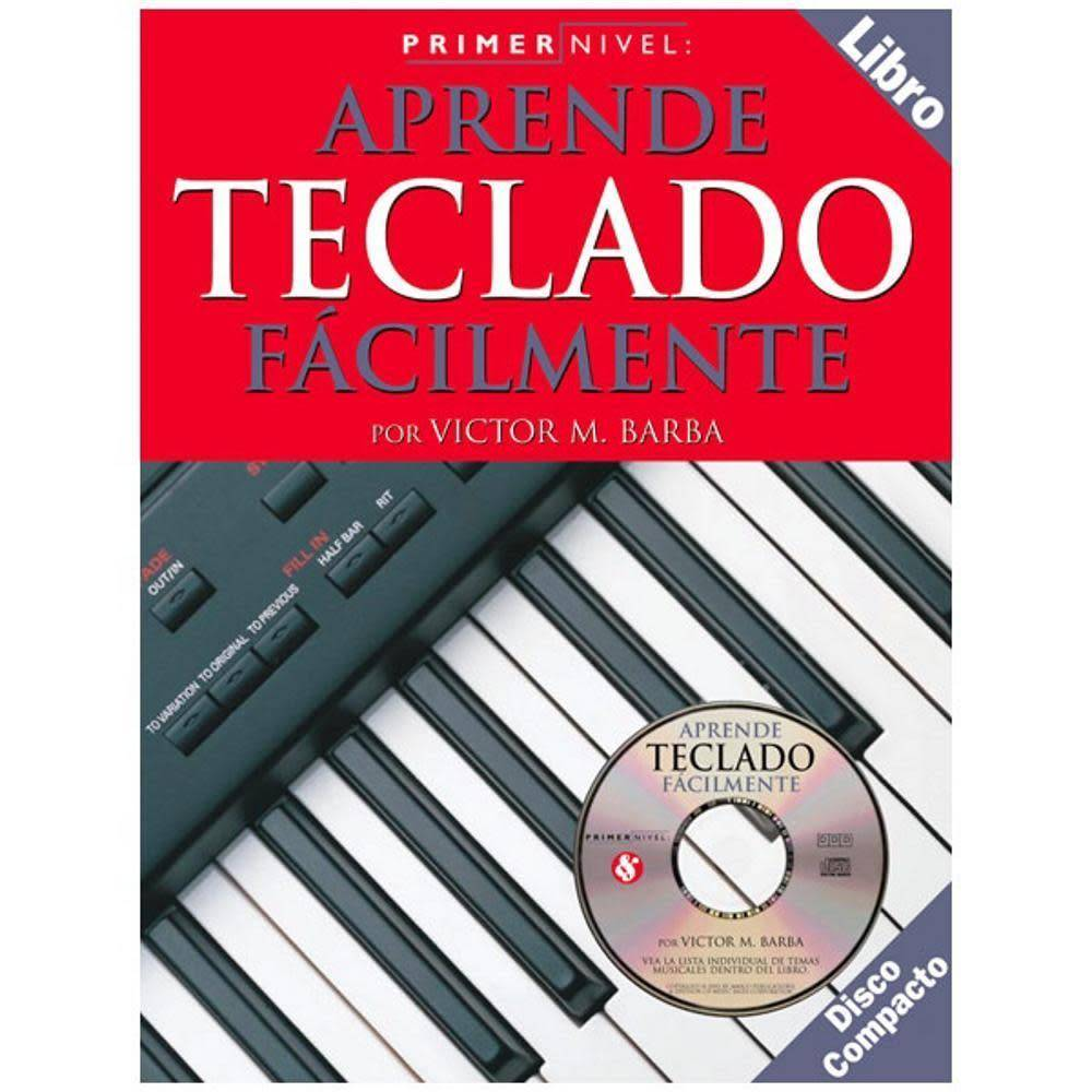 Hal Leonard Teach Yourself Keyboard - Primer Nivel - Aprende Teclado Facilmente