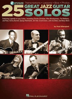 Hal Leonard 25 Great Jazz Guitar Solos