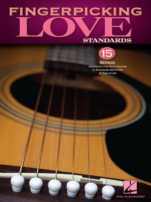 Hal Leonard Fingerpicking Love Standards3a Solo Guitar